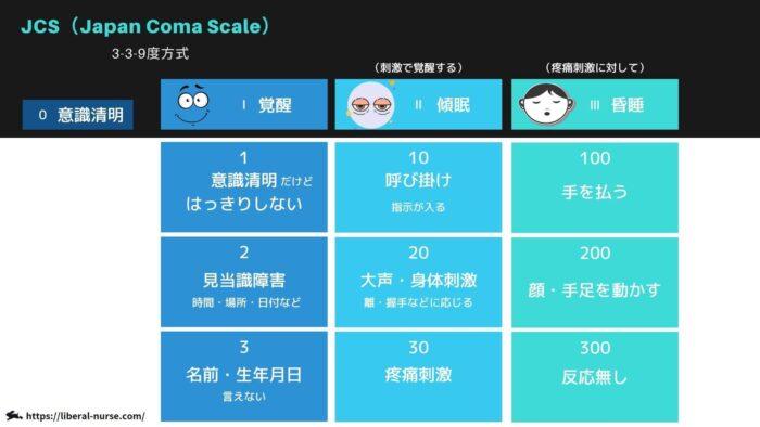 JCS(Japan Coma Scale)